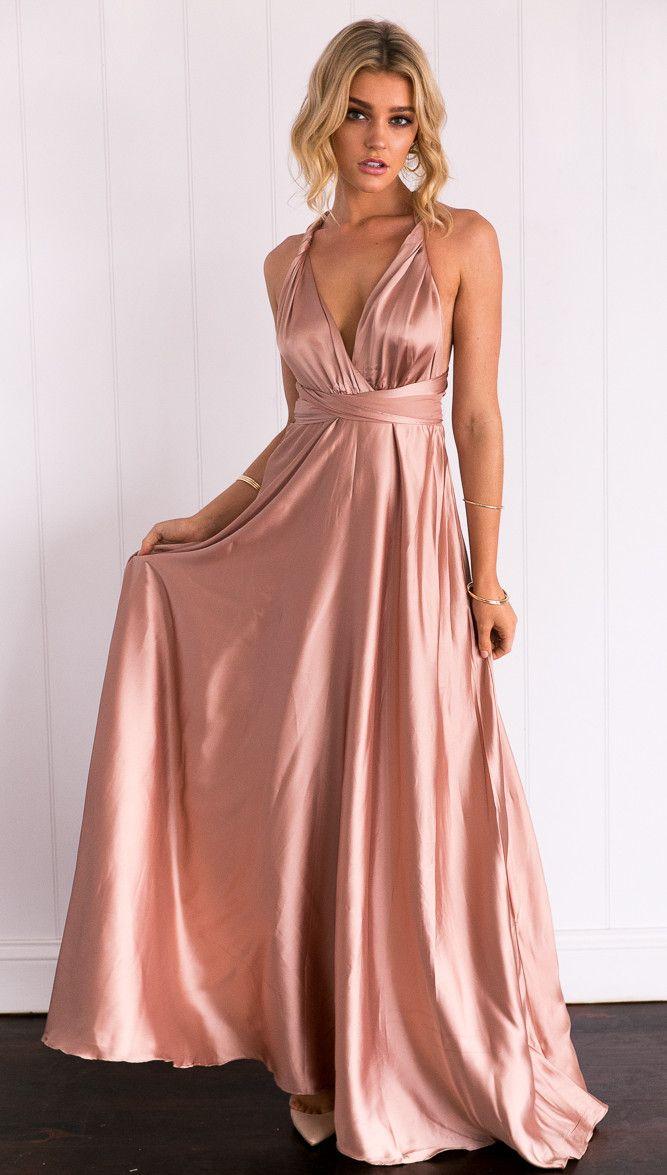 Celestial Dress (Mocha) | Professional Bridesmaid | Pinterest