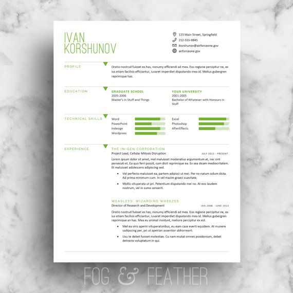 Stand out with your next job application using this four piece - job cover letter template