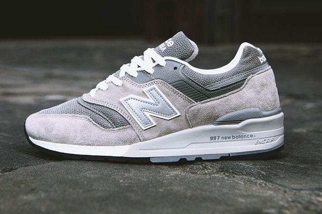 New Balance Nb997 Og Grey Sneaker Freaker Sneakers Grey Sneakers Retro Shoes
