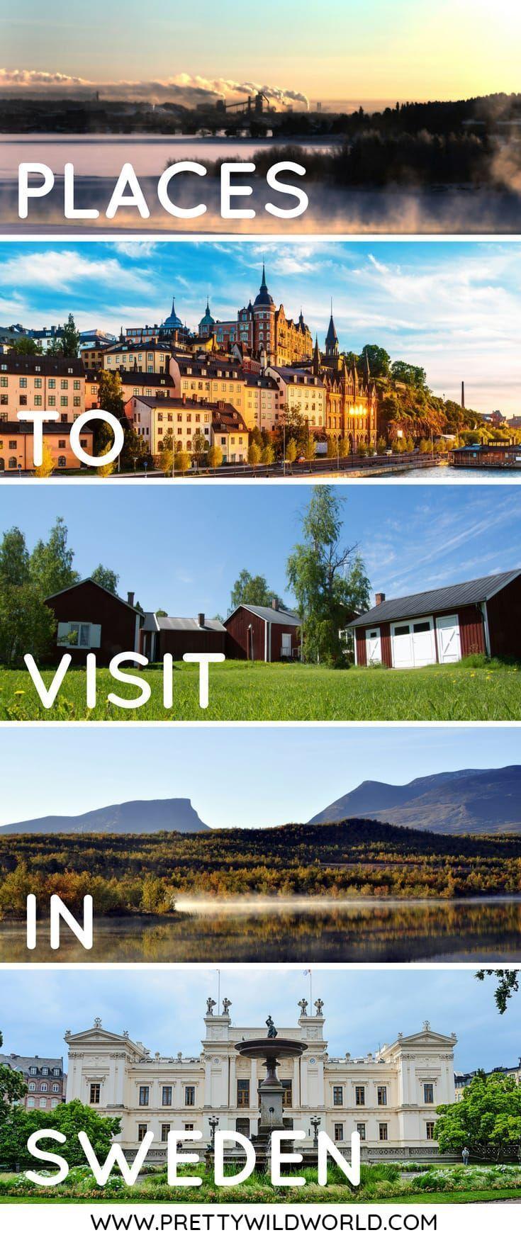 Top 15 Best Places To Visit In Sweden Sweden Travel Places To Visit Sweden Tourism