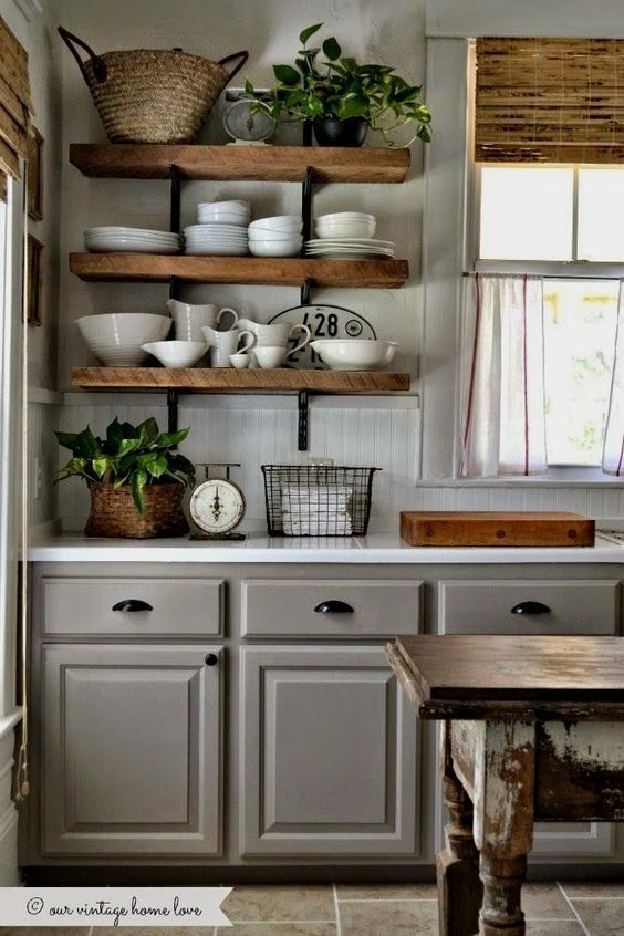 16 Organized Kitchen Shelving Ideas »