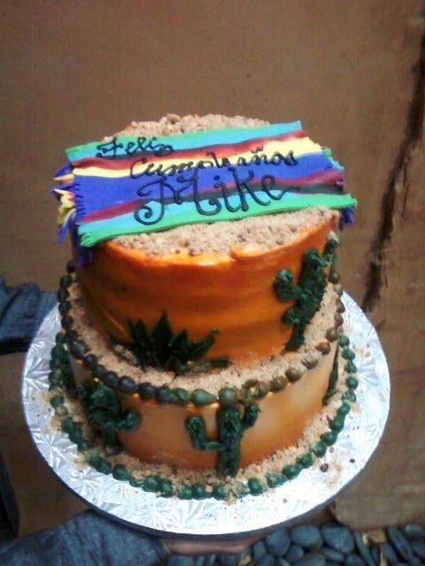 tequila sunrise cake mexican party themed cake party cakes in