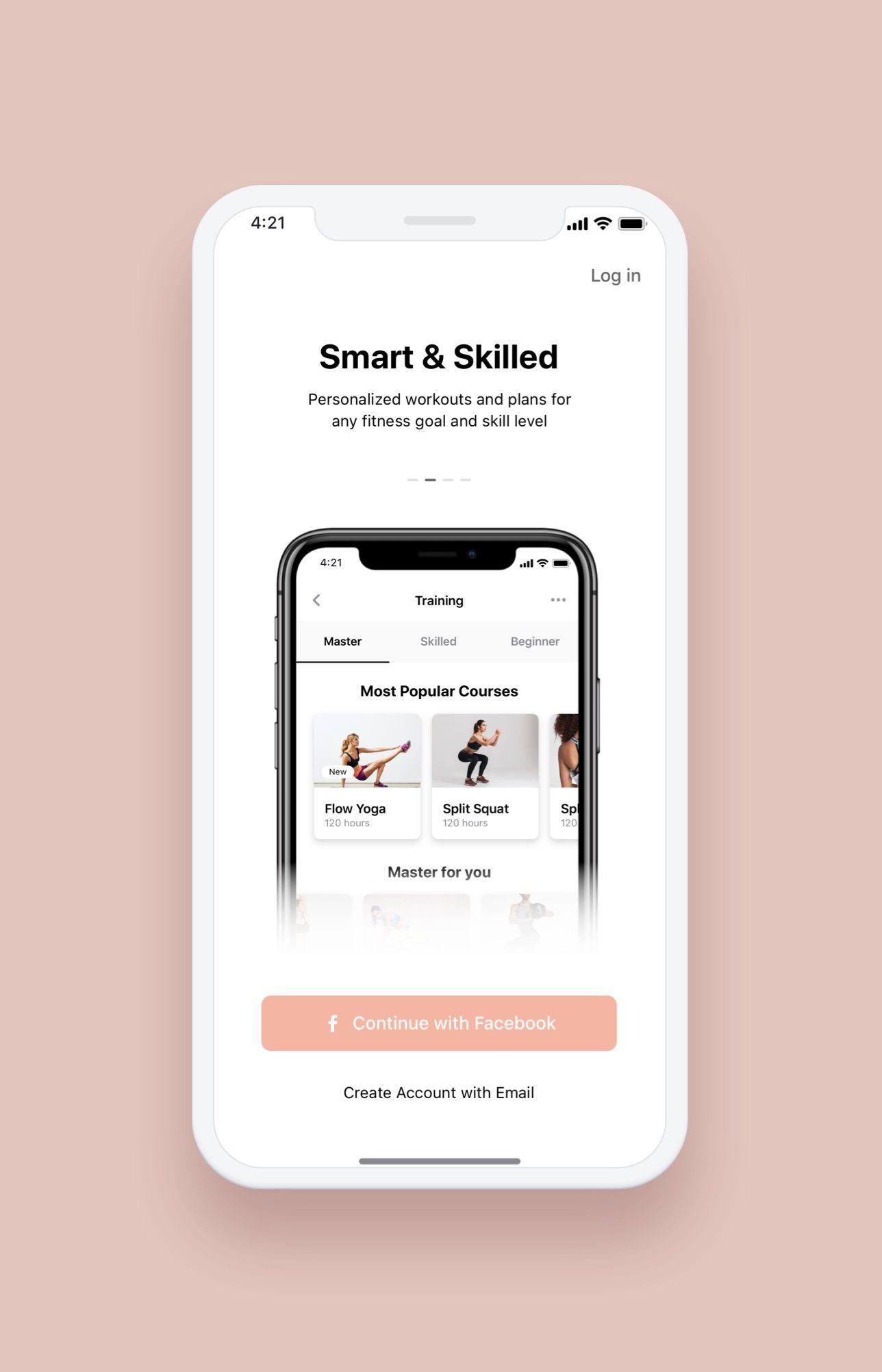 Pin On Hermes Fitness Ios App Ui Kit