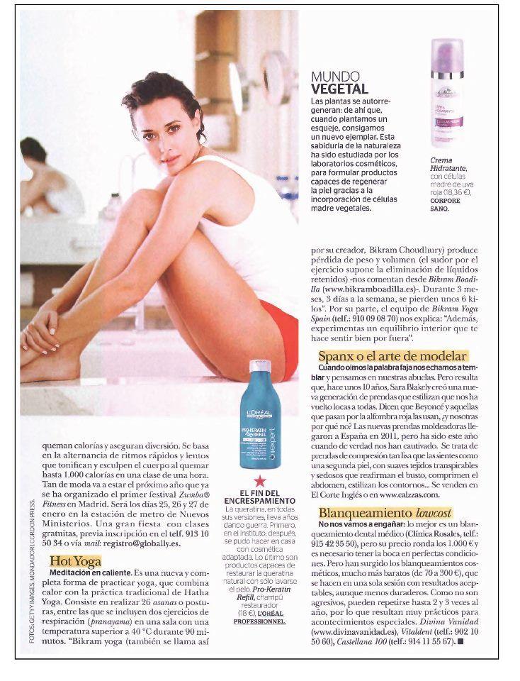 La revista Mía recomienda el nuevo sistema de blanqueamiento cosmético-estético, lo último en USA, ya en Divina Vanidad.