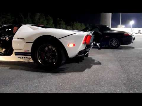 Hp Ford Gt At Pbir Super Car Experience Massive Exhaust Flames