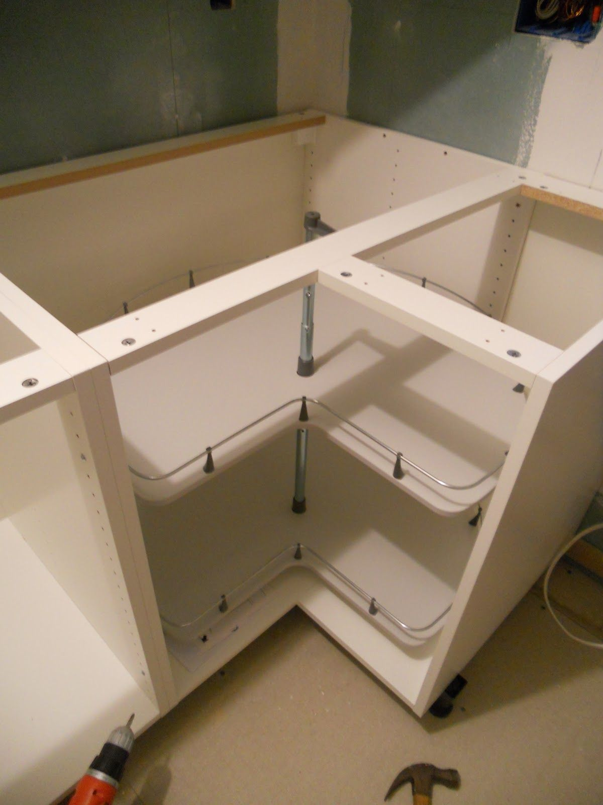 Me, Ed And Pea: Installing An Ikea Kitchen Part 2: Short Version · Ikea  Corner CabinetCorner CabinetsTall ...