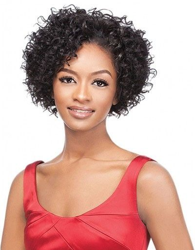 Outre Velvet 100 Remi Human Hair Angel Curl Weave 3 Pcs Short Series Weave Hairstyles Hair Pieces Remy Human Hair Weave