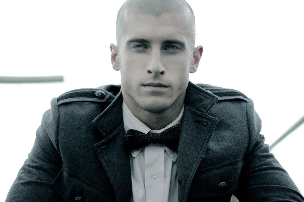 Bald/shaved head model