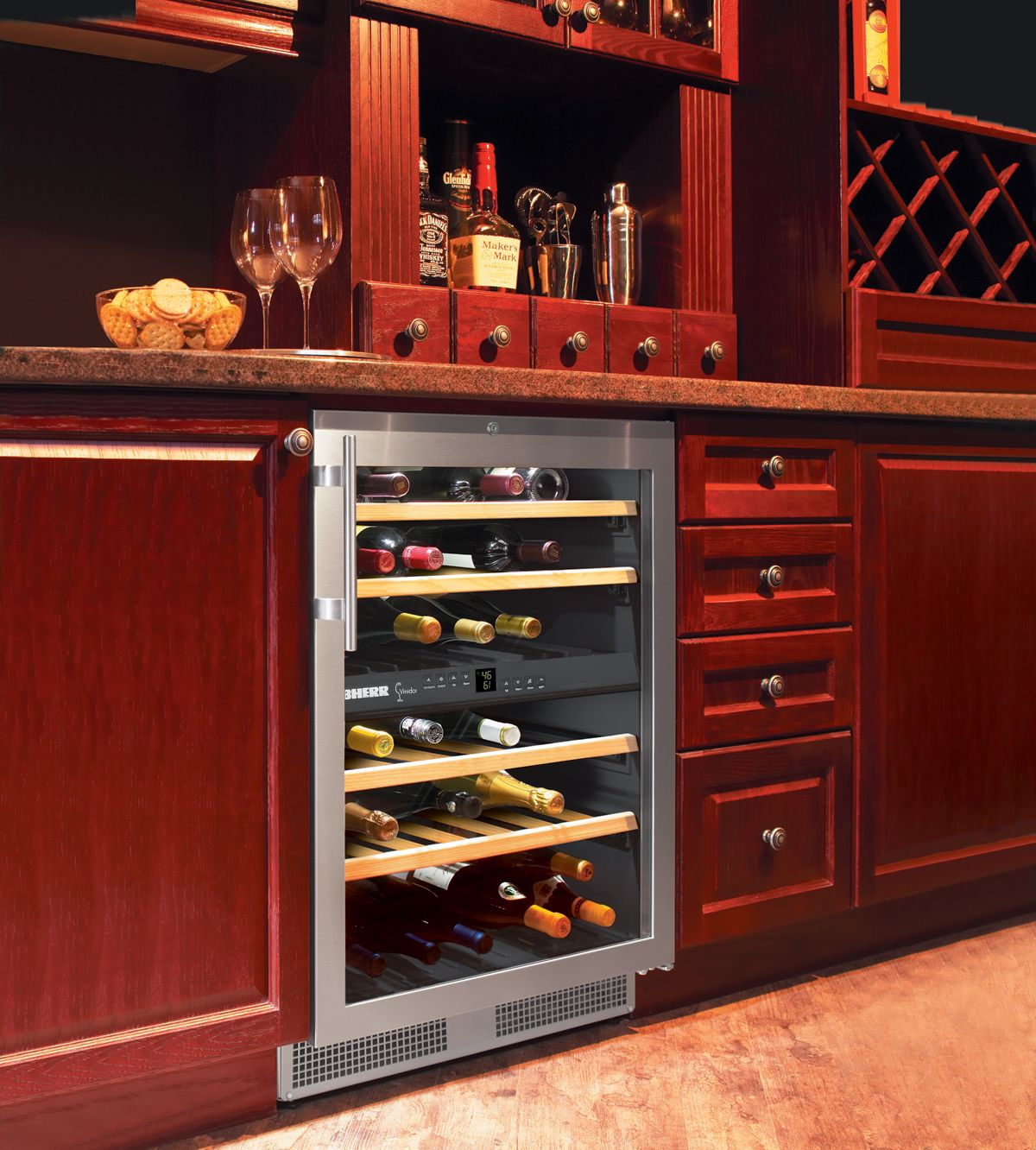 A Liebherr Wine Fridge Perfect For Any Mancave Or Home Bar Mancave Liebherr Homedecor Ho Wine Storage Cabinets Wine Room Design Built In Wine Refrigerator