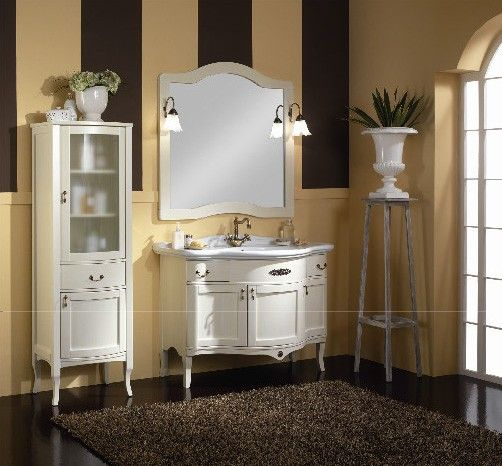 Mobile bagno classico con lavabo integrale | Arredamento Camera ...