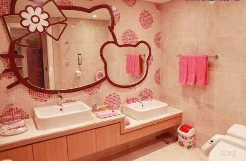 Hello Kitty Bathroom Tiles New Inspiration