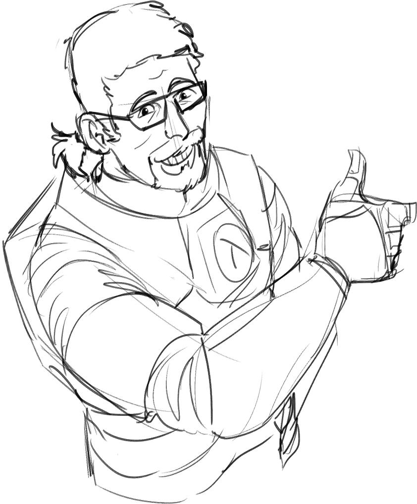 Livin Up To The Username Half Life Nerd Geek Fan Art