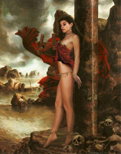 Fantasy Pin-ups: The Pin up Girl Art of Howard David ...