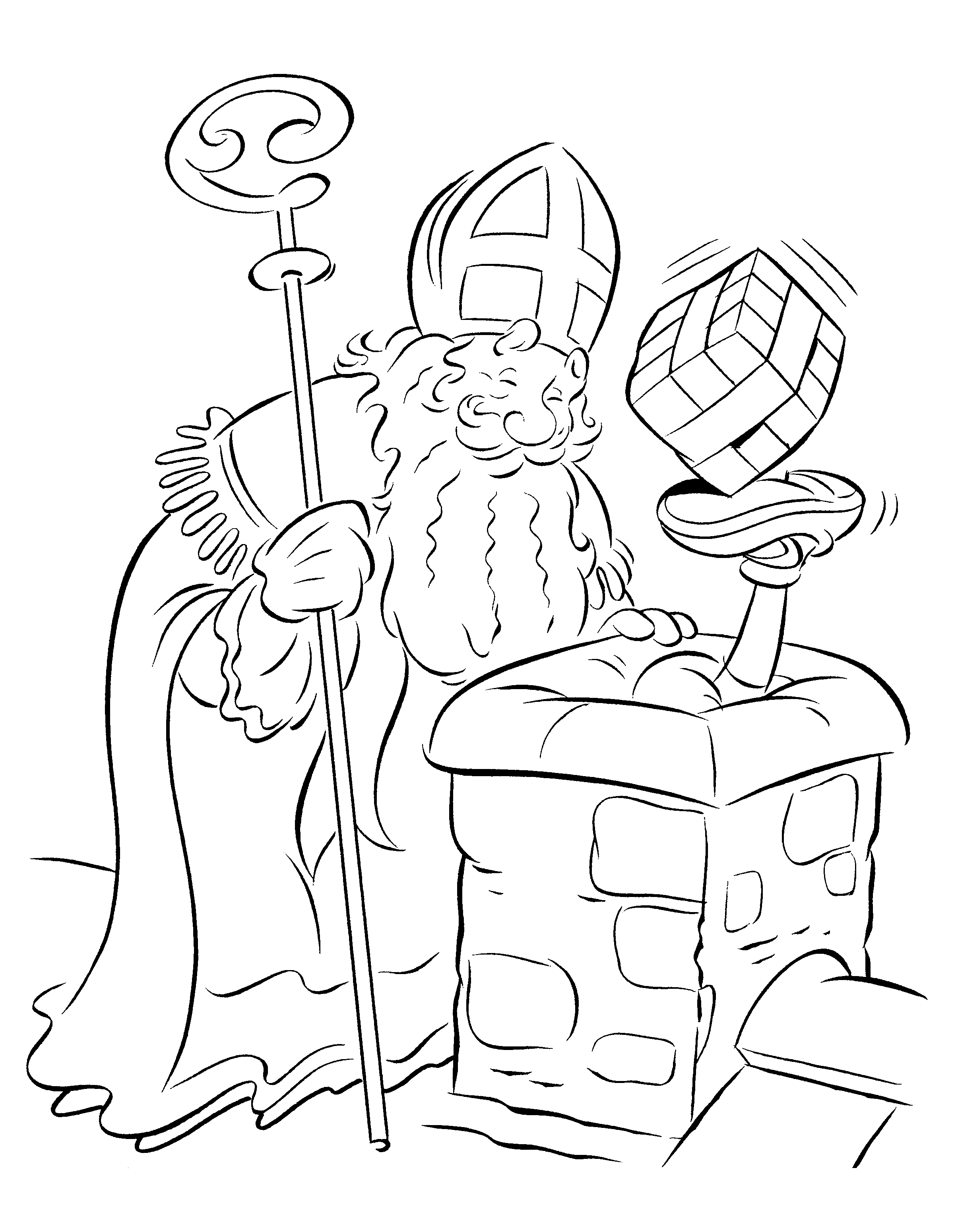 sinterklaas coloring pages - photo#6