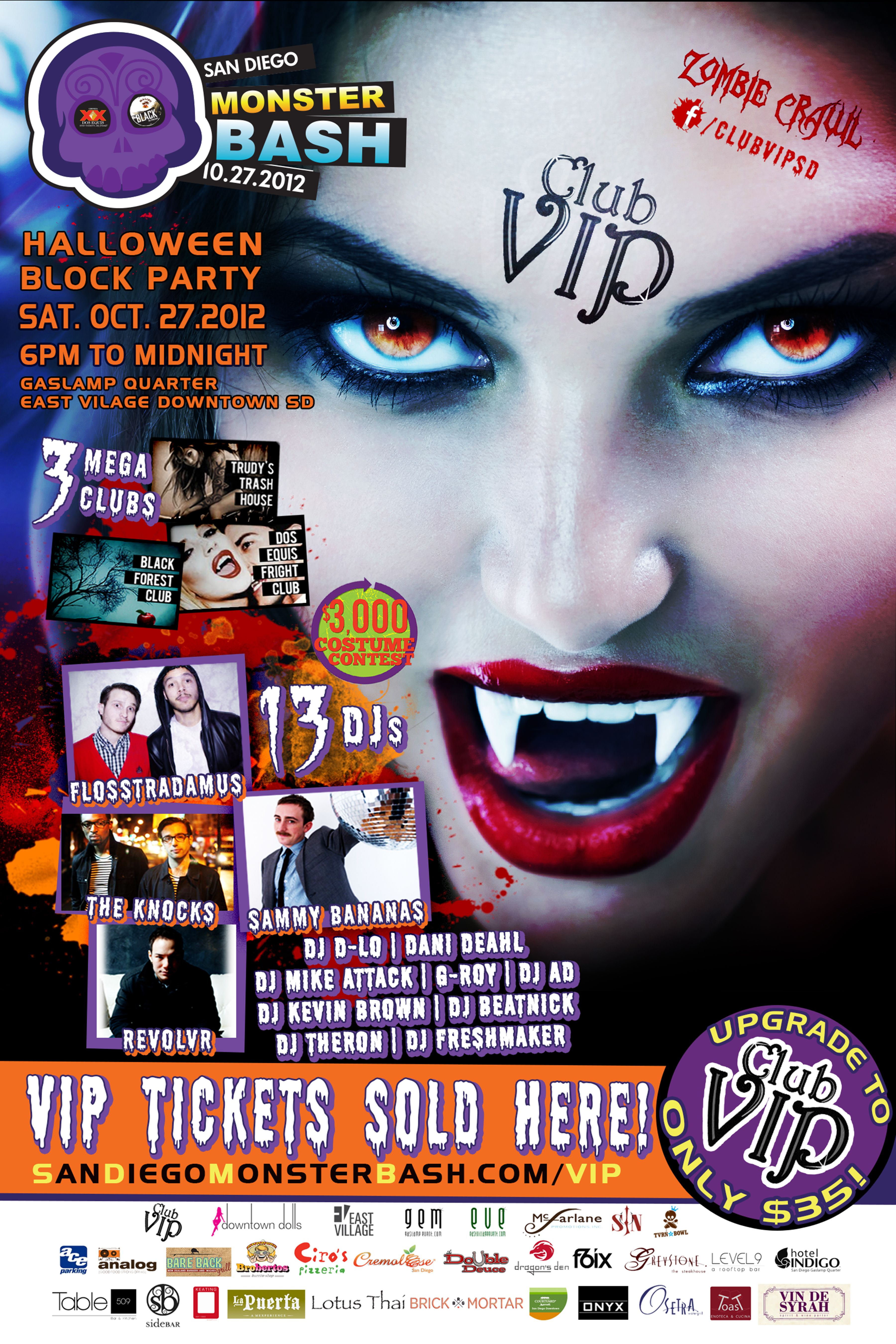 Looking for the hottest Halloween party around!? San Diego Monster ...