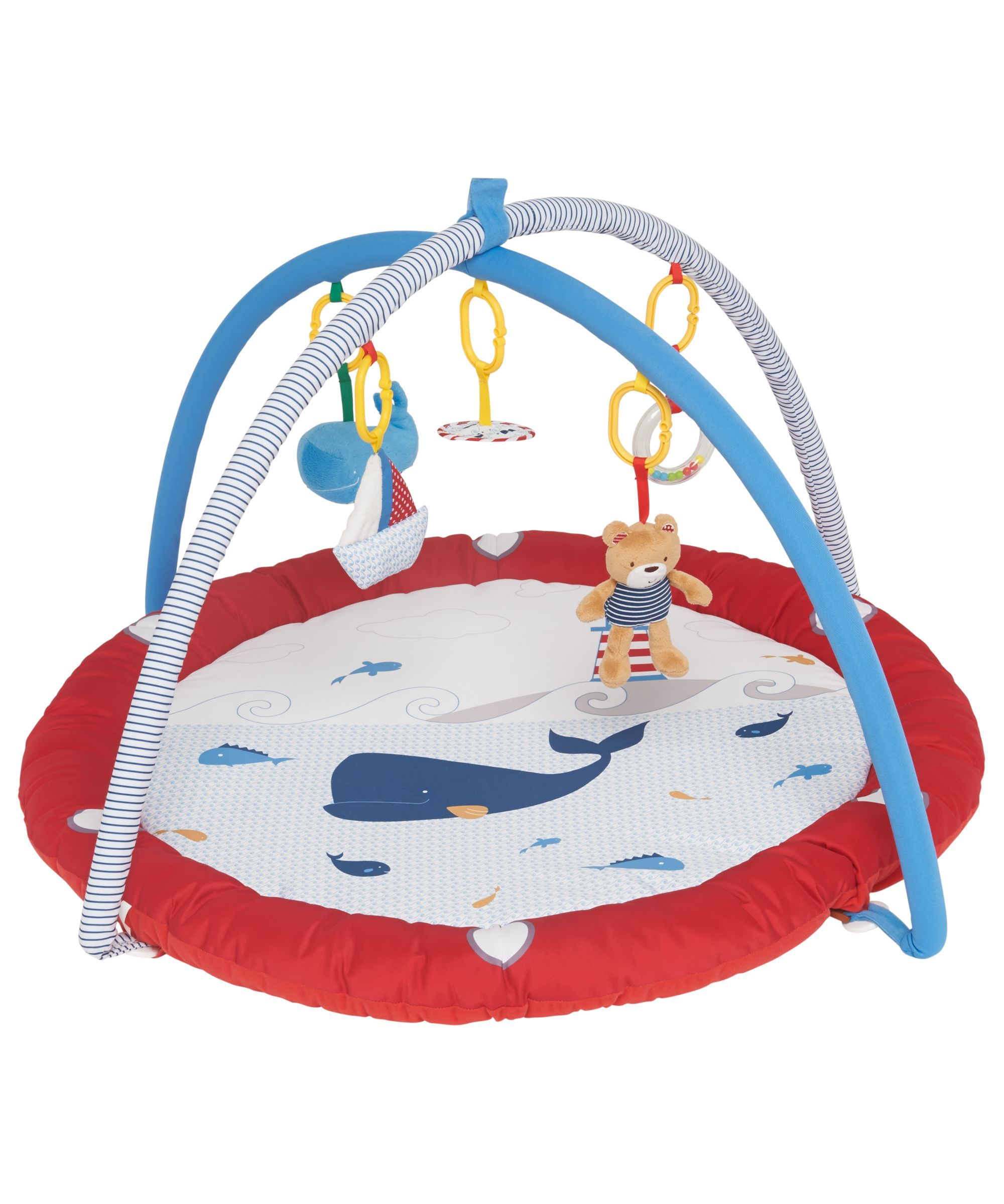 Mothercare Nautical Bedding: Mothercare Whale Bay Playmat