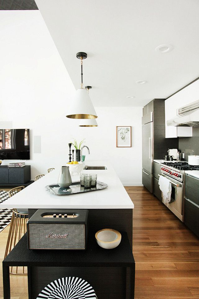 Kitchen Design Brooklyn Mesmerizing Tour A Modern Brooklyn Home With Gorgeous Accent Walls  Open Inspiration Design