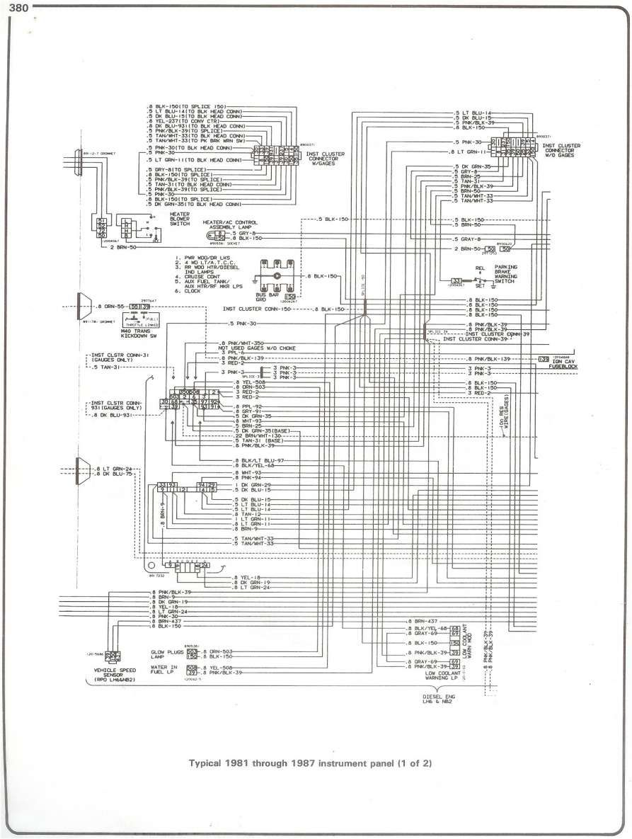 15 1984 Chevy Truck Electrical Wiring Diagram Truck Diagram Wiringg Net Chevy Trucks 1979 Chevy Truck 1984 Chevy Truck