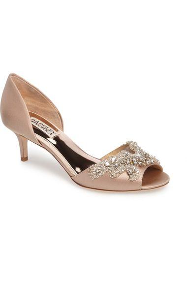 Badgley Mischka Barclay Kitten Heel d'Orsay Sandalo (Donna) available available (Donna)   93deb4