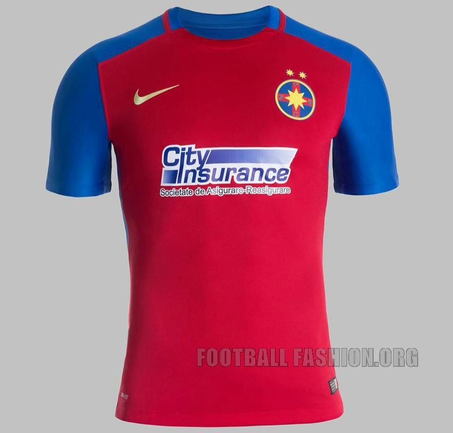 FC Steaua Bucharesti 2015/16 Nike Home Kit