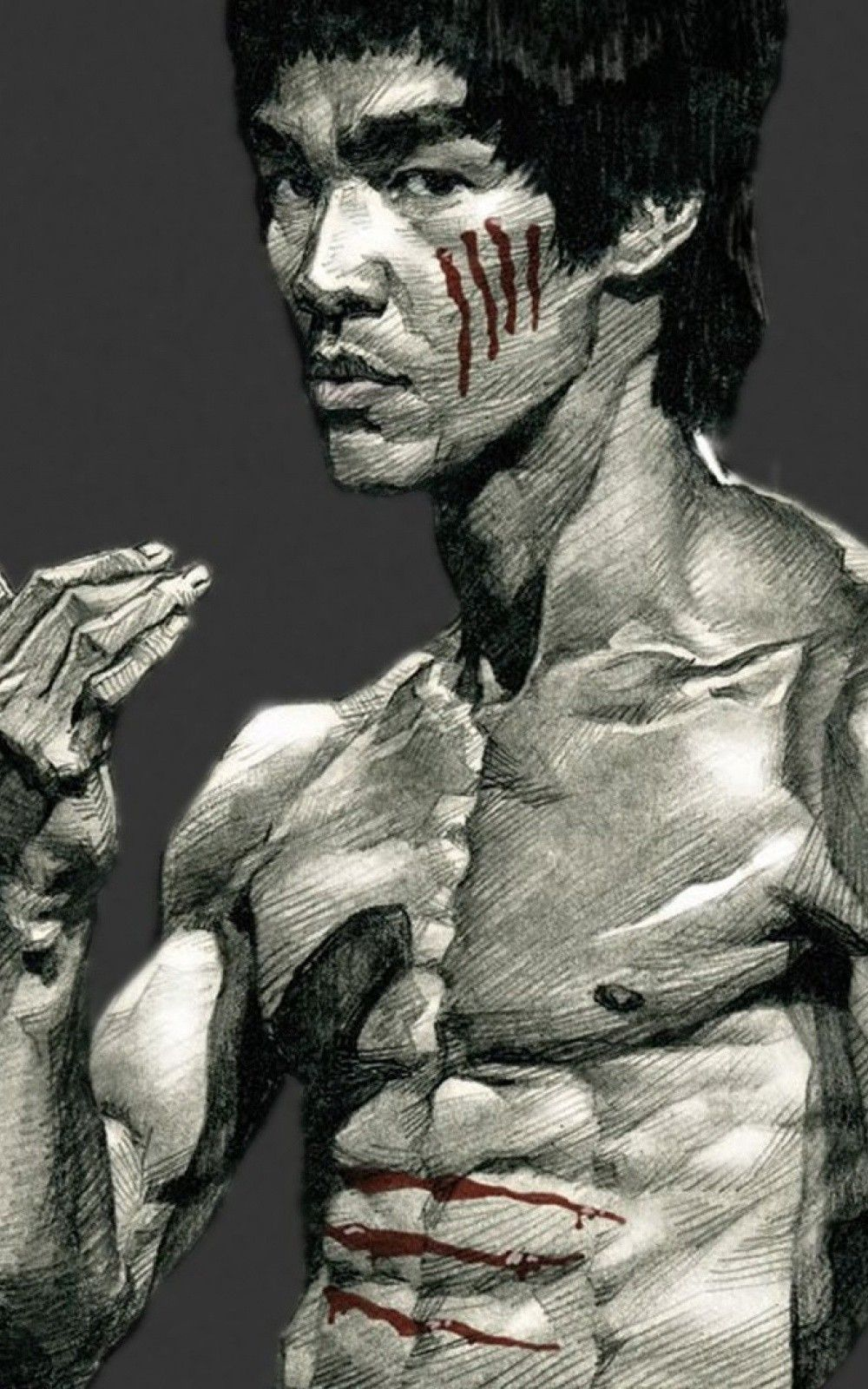 Bruce Lee Drawing Android And Iphone Wallpaper Background And Lockscreen Hd Check More At Https Phonewallp Com Bruce Lee Drawing Android And Iphone Wallpaper