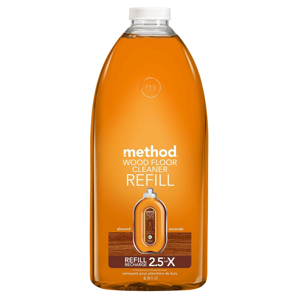 Method Cleaning Products Wood Floor Cleaner Refill Almond 68