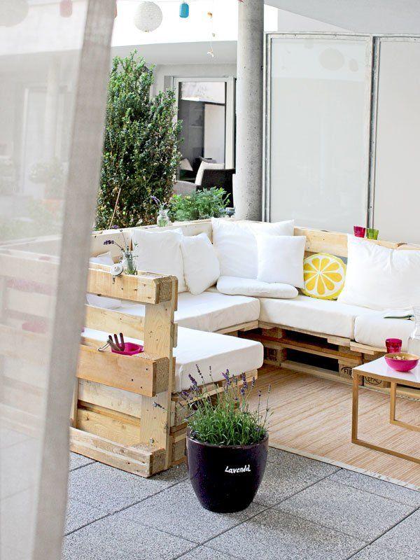 diy und wohnblogs lange n gel gartenm bel aus paletten und kabelbinder. Black Bedroom Furniture Sets. Home Design Ideas