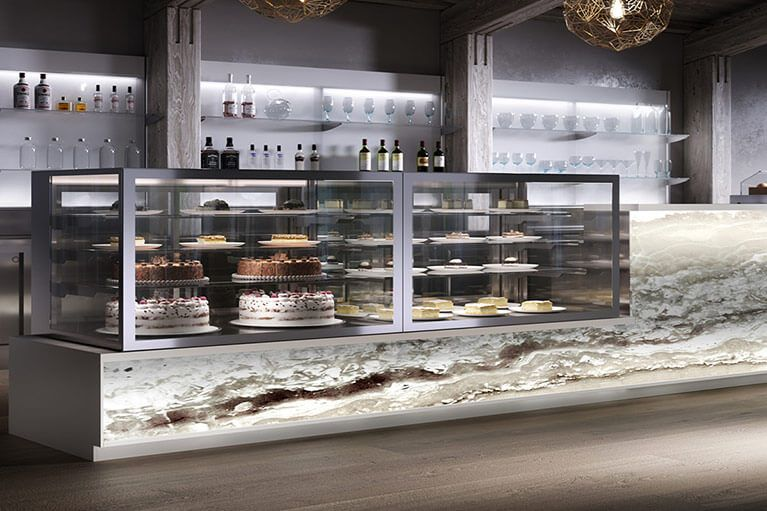 Refrigerated Pastry Display Cases for Deli, Sushi, Meat