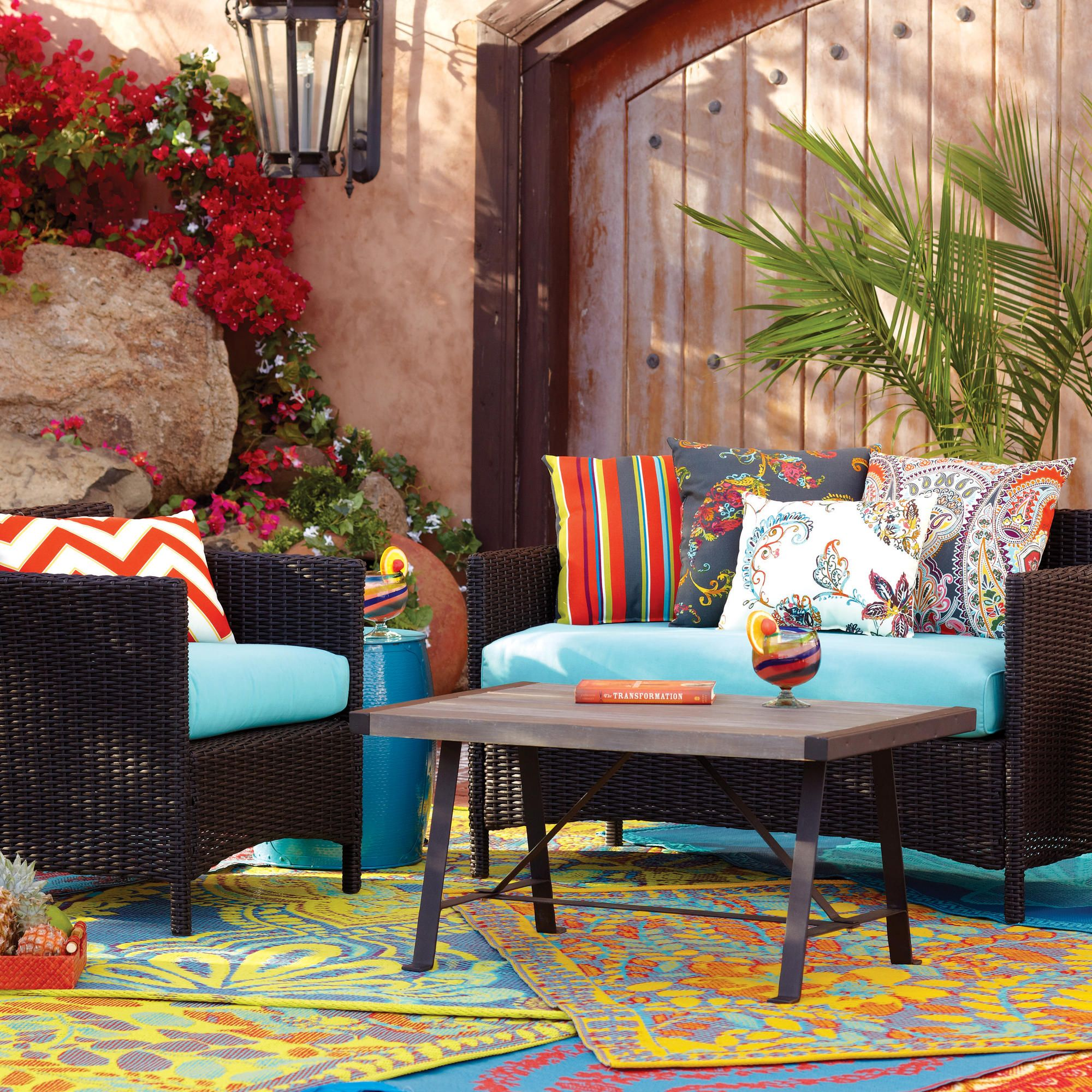 High Quality All Weather Wicker Furniture (Outdoor Furniture Or Patio Furniture) At Cost  Plus World Market Outdoor Entertaining Decor