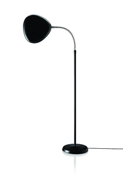 Gubi Cobra Floor Lamp Jet Black By Greta Grossman Leuchten