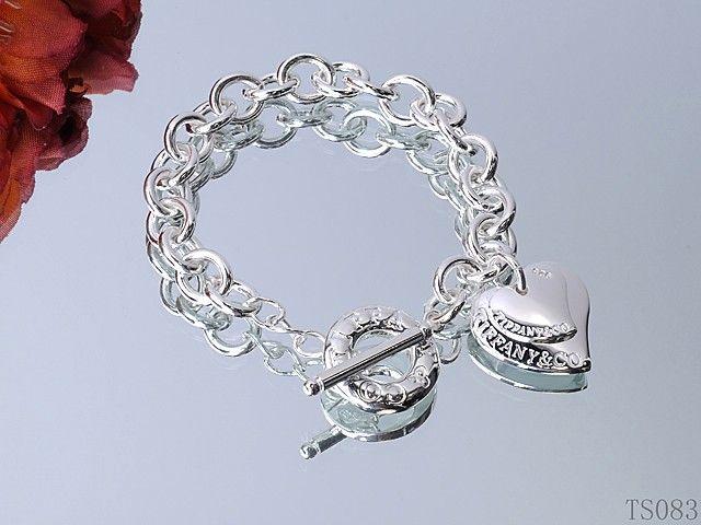Tiffany Bracelets fashion design brand silver jewelry-80