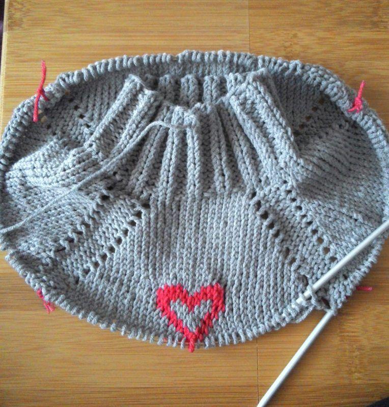 Вязание свитера и платья