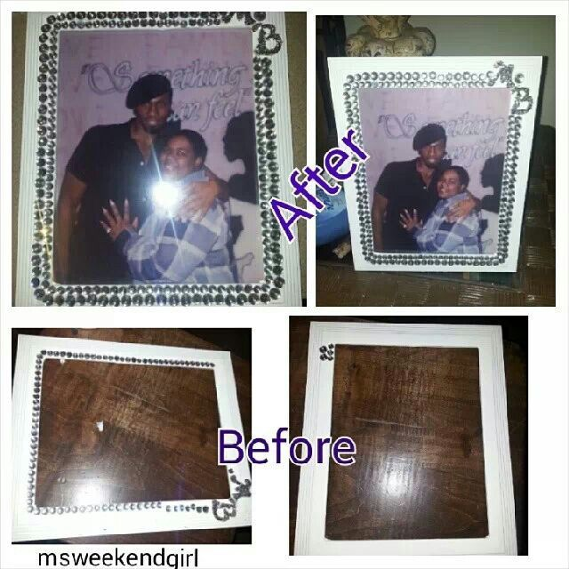 Drab to Fab picture frame