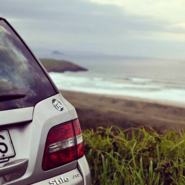 .@nachoiglesiasgarcia | #fiatstilo #fiat #my #car #machina #asturiasgrafias #xago #beach #asturias
