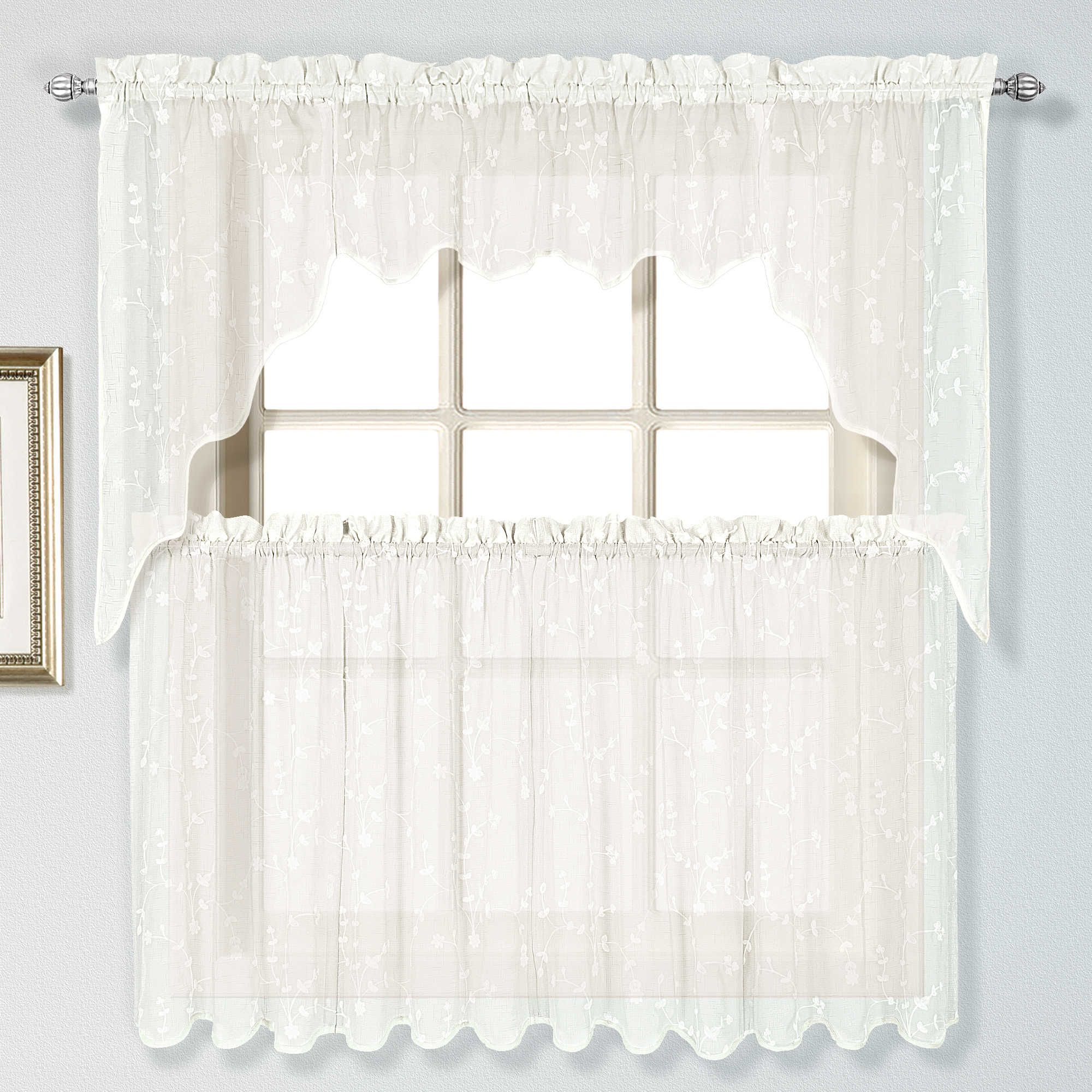 Savannah window valance in oyster kitchen curtains pinterest