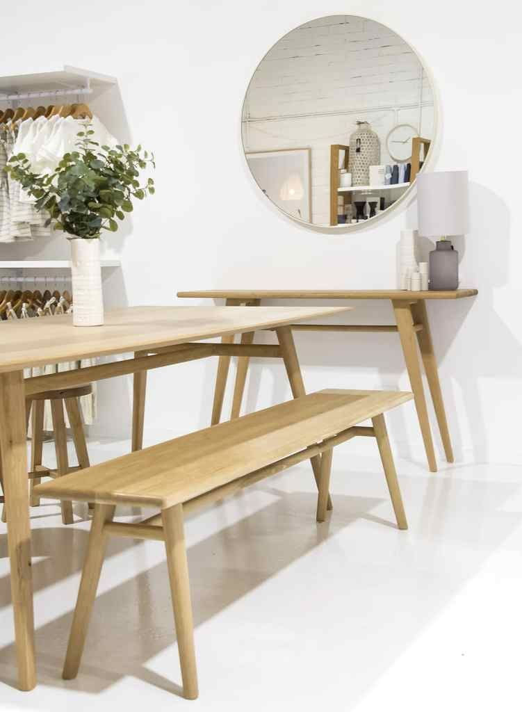 Austin Dining Table Dining Table Furniture Timber Bench Seat
