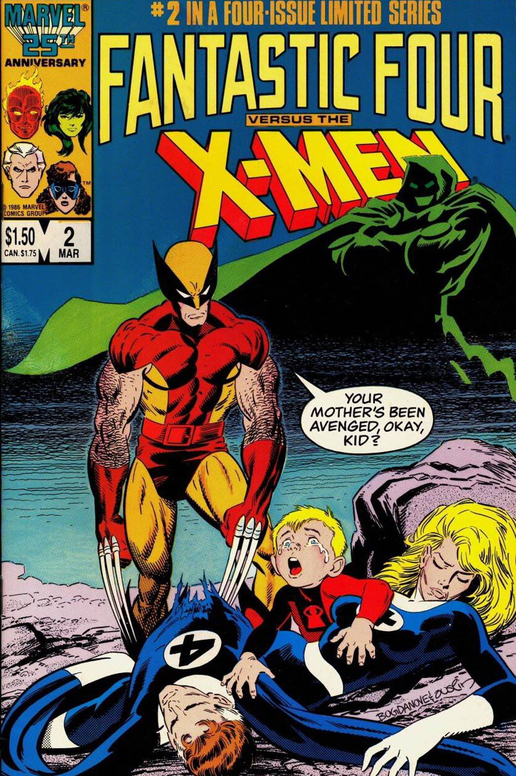 Fox Planning Fantastic Four Vs X Men Movie Update Hollywood Reporter Classic Comic Books Fantastic Four Comics Classic Comics