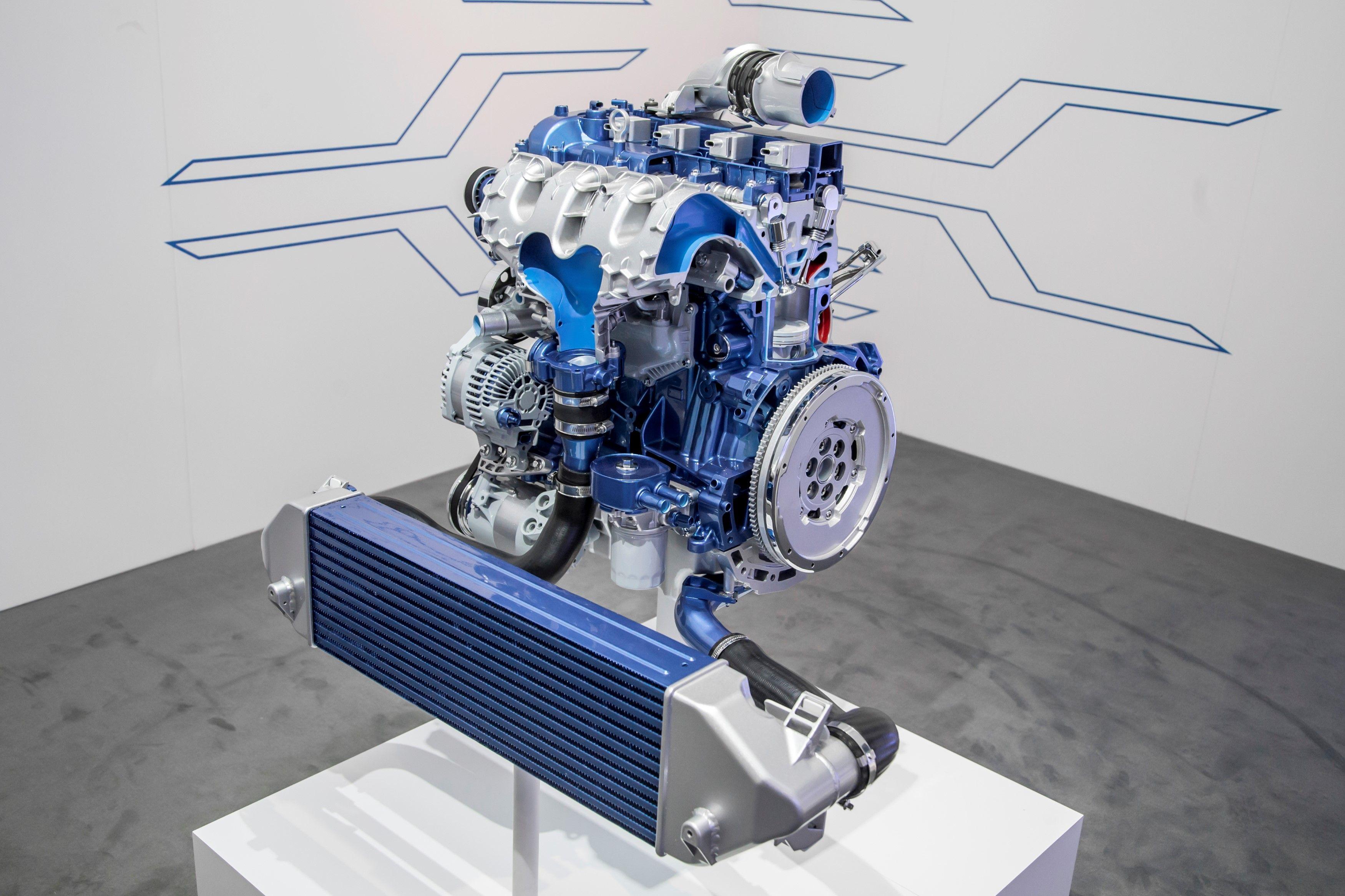 2.3l DOHC D.I. turbocharged 4 cylinder EcoBoost for 2016 Ford Focus ...