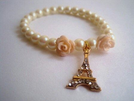 55fe87c8510c Pulsera torre eiffel Mar Accesorios ♥  10.000  accesorios  accessories   aretes  earrings  collares  necklaces  pulseras  bracelets  bisuteria   jewelry ...