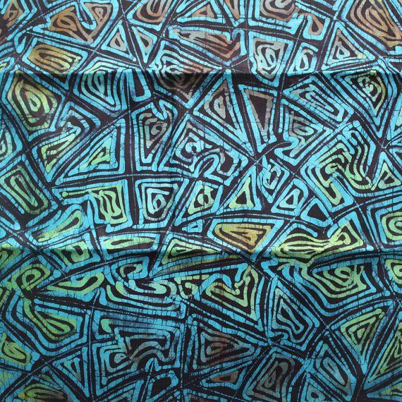 impresión africana, tela africana Adire TyeDye impresión Batik Tela