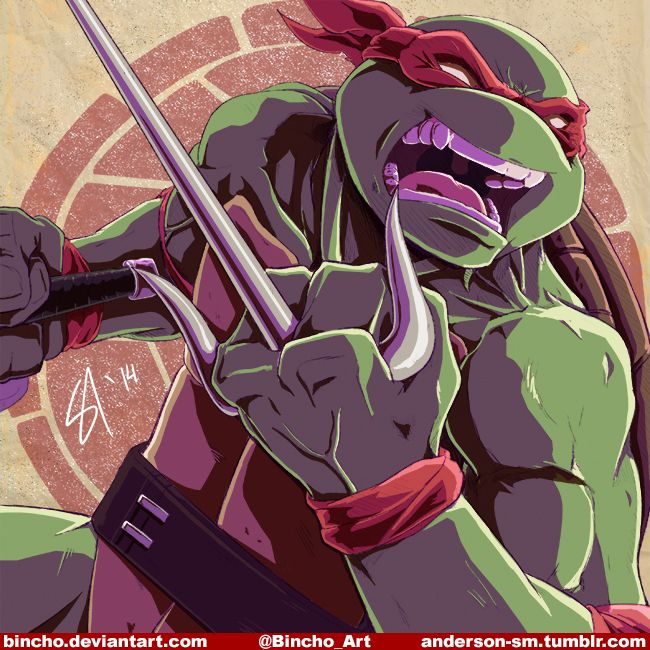 Raph by Bincho.deviantart.com on @deviantART