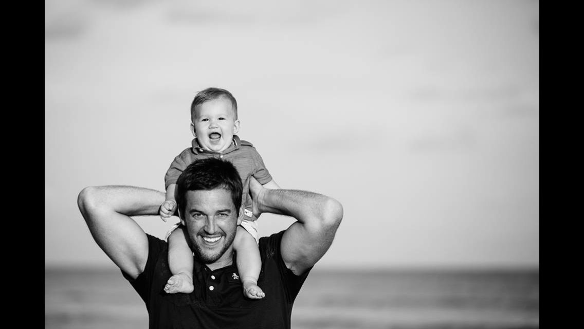 Father & son beach photo..love this! http://ashahphotography.com