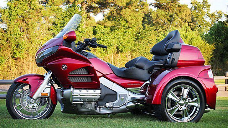 Honda Gold Wing Gl1800 Motor Trike Kit Available Photo Gallery In 2020 Trike Motorcycle Goldwing Trike Trike Kits
