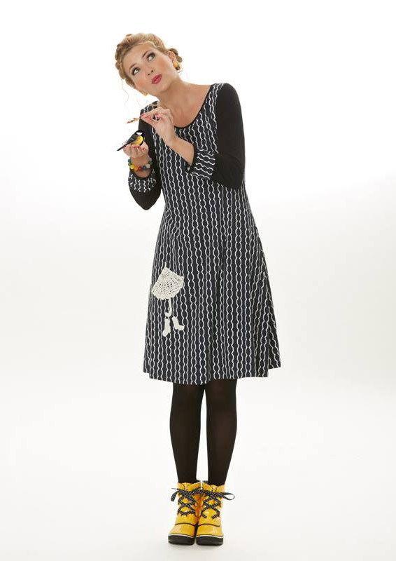 6eee25810e5d Milde Du Design Danish Rosa Kjole Dress Ss16 Syning Regnvåde qCdHC