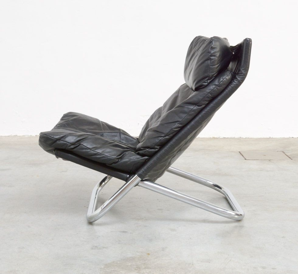 Easy Chair Cross By Marcello Cuneo For Arflex 1974 Metal Furniture Design Easy Chair Chair