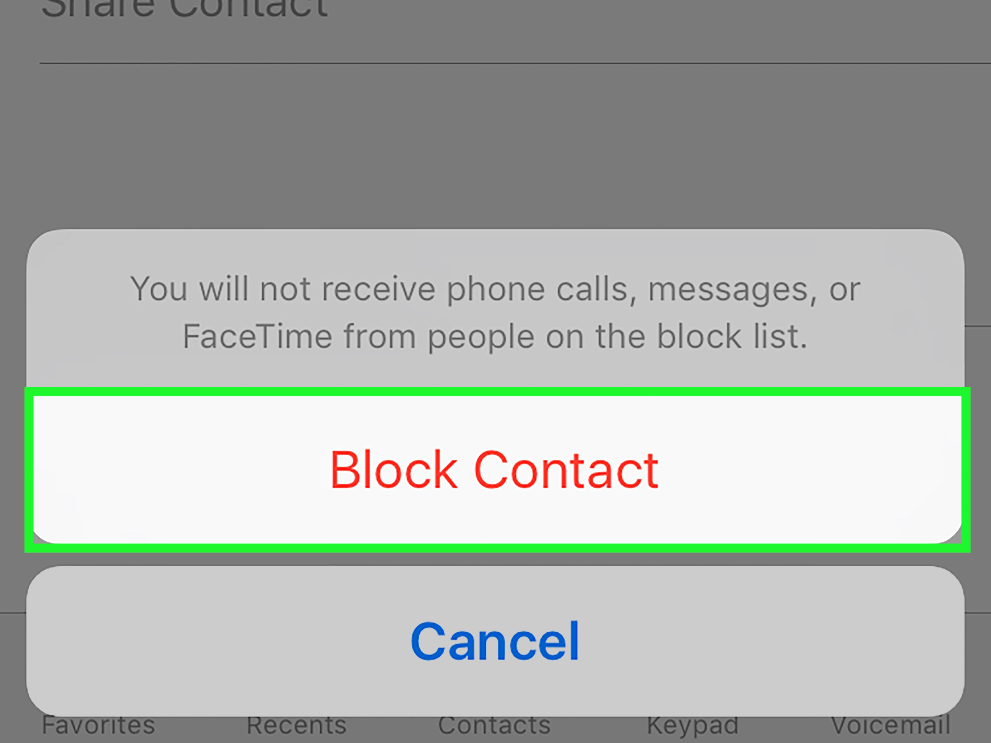 How to block calls from unknown numbers on an iphone