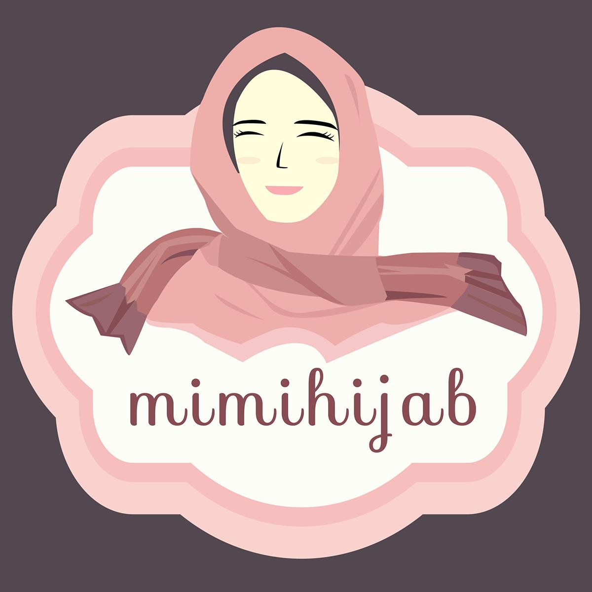 Mimihijab S Logo On Behance Aurora Sleeping Beauty Logos Movie Posters