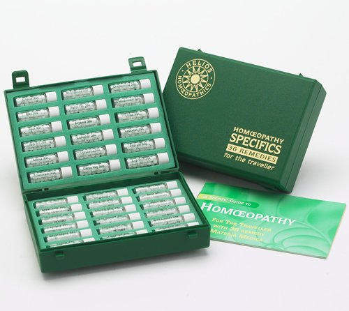 36 Homeopathic Remedy Travel Kit Health