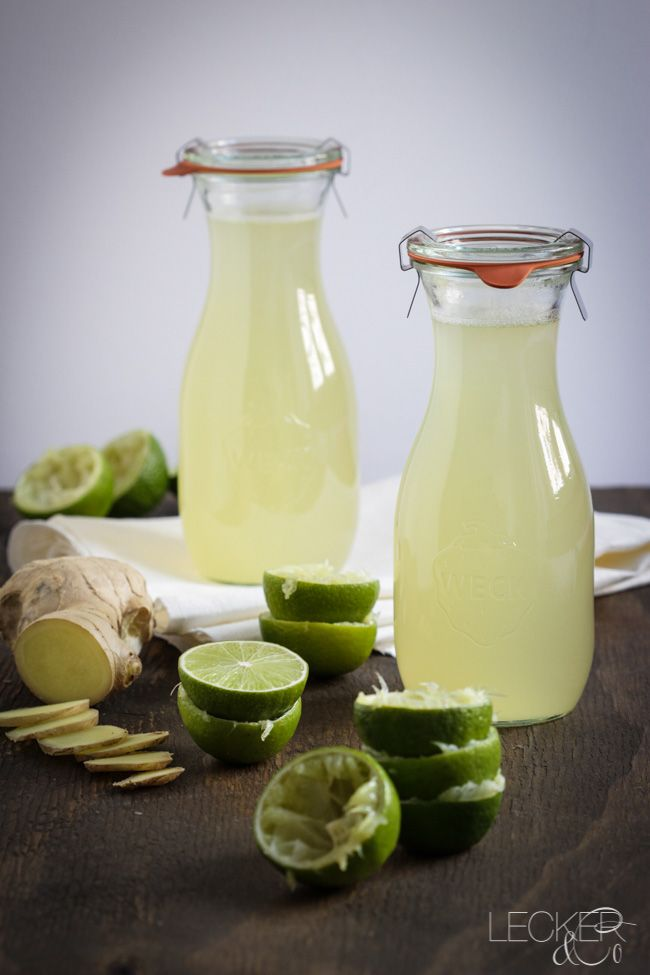 Ingwer-Limetten-Sirup #lemonade