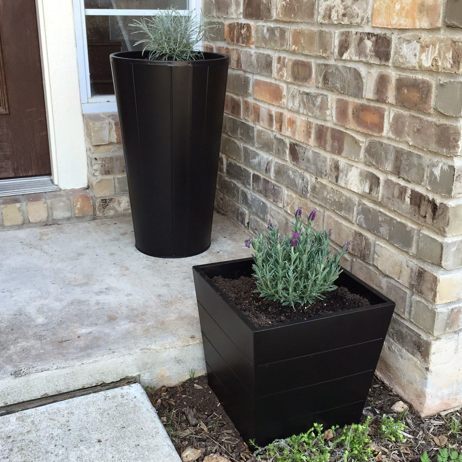Ikea Herb Planters Outdoor Decor Front Yard Garden Makeover Outdoor Décor